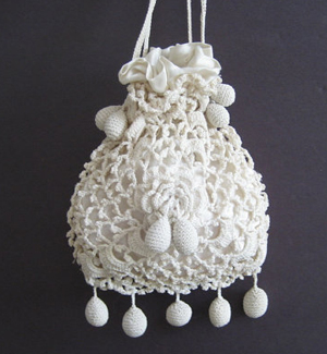 Irish-crochet-bag