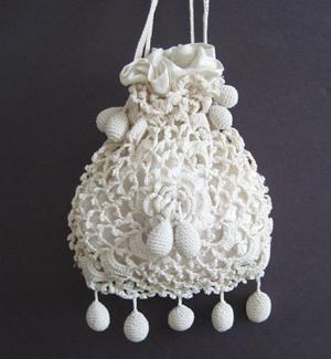 Irish-crochet-bag