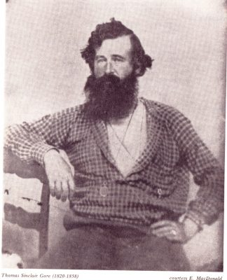 Thomas Gore, founder of Gore's Landing