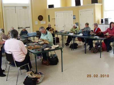 Cobourg rug-hooking group