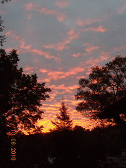 September sunrise at Smallbones