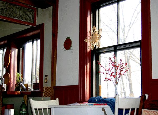 window on winter
